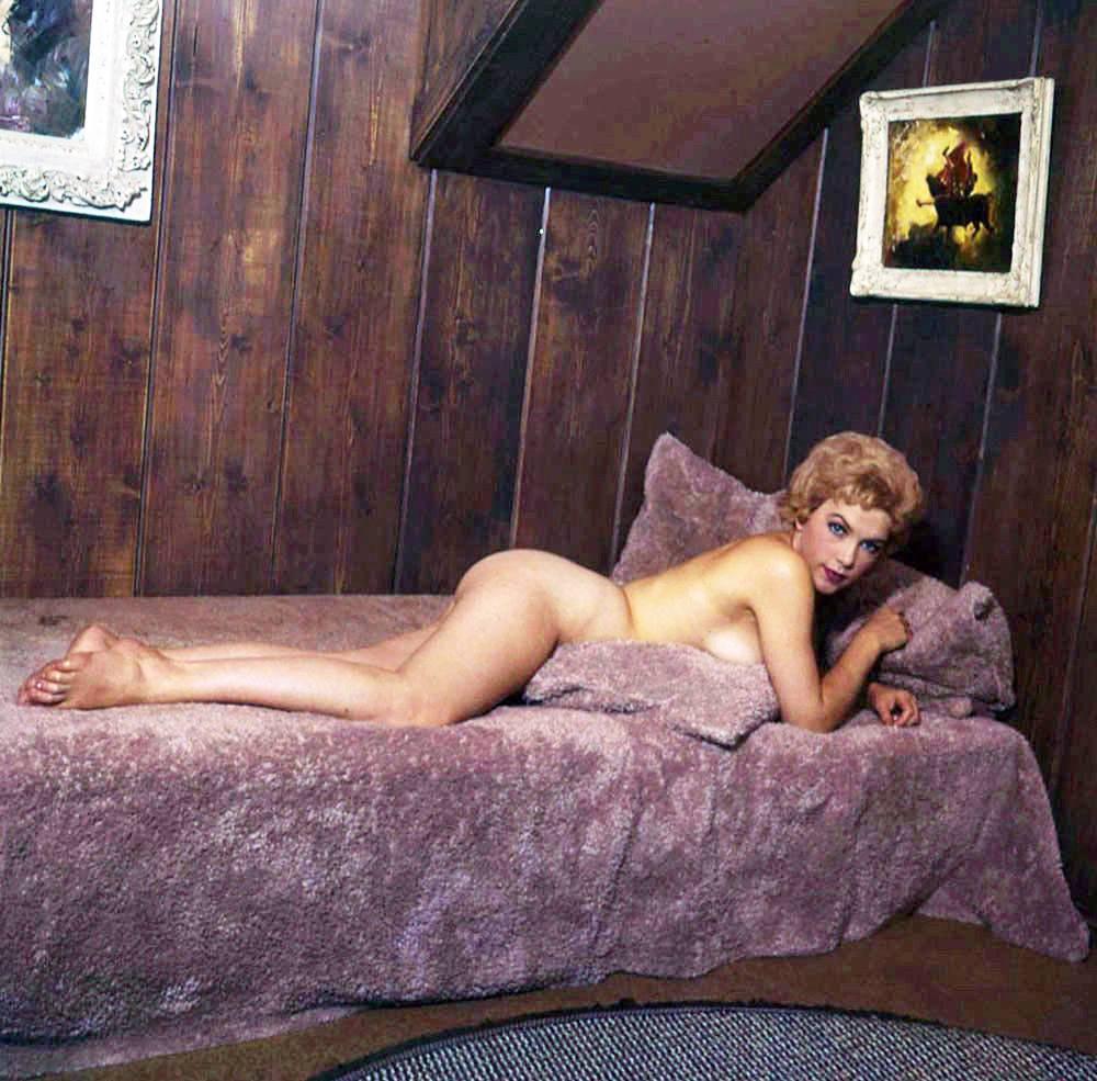 Stella Stevens Schallwig shoot purple 01