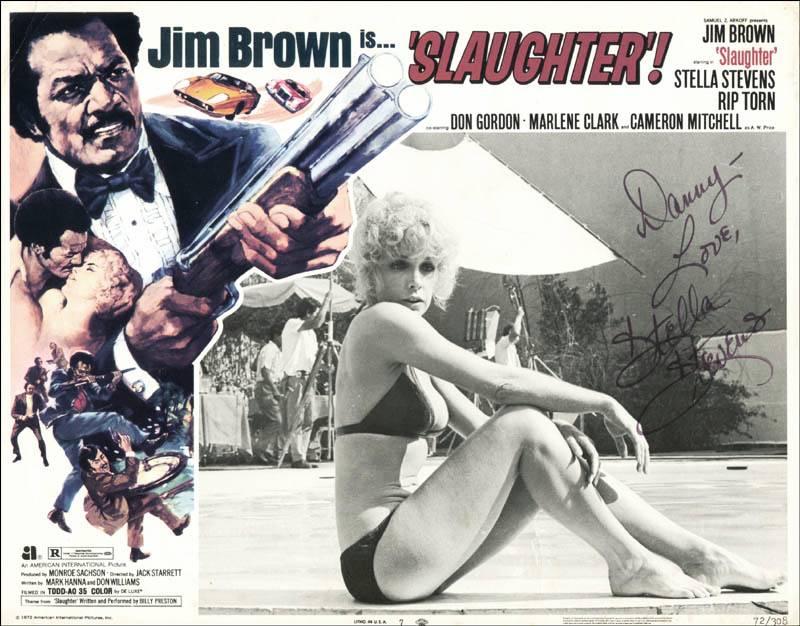 Stella Stevens Slaughter lobby card